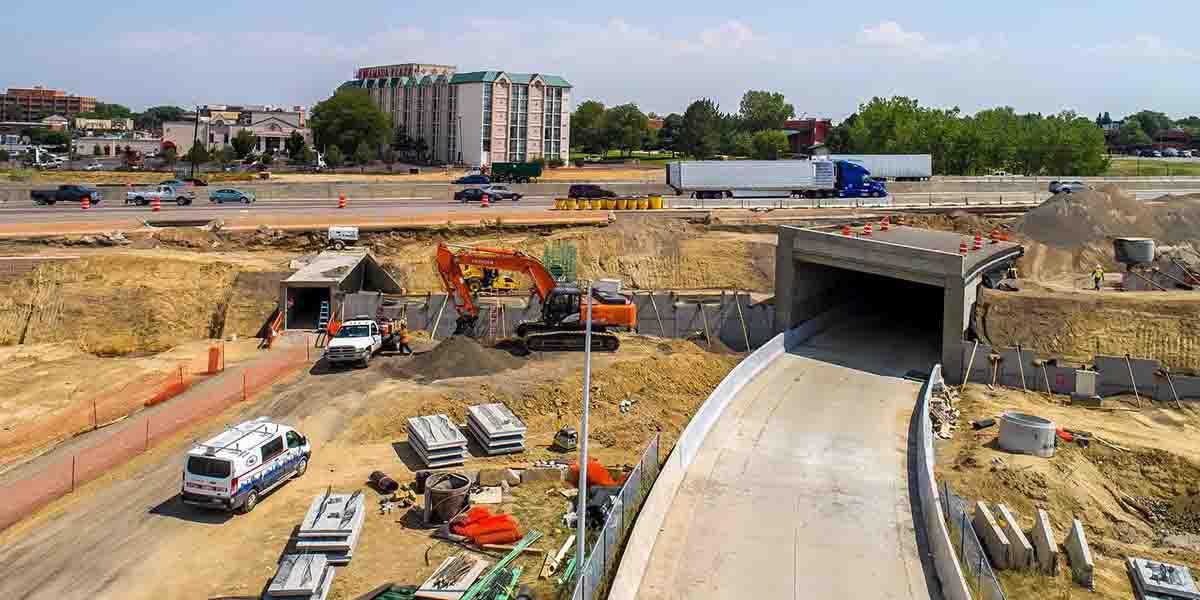 RTD Tunnel - I-25 west side