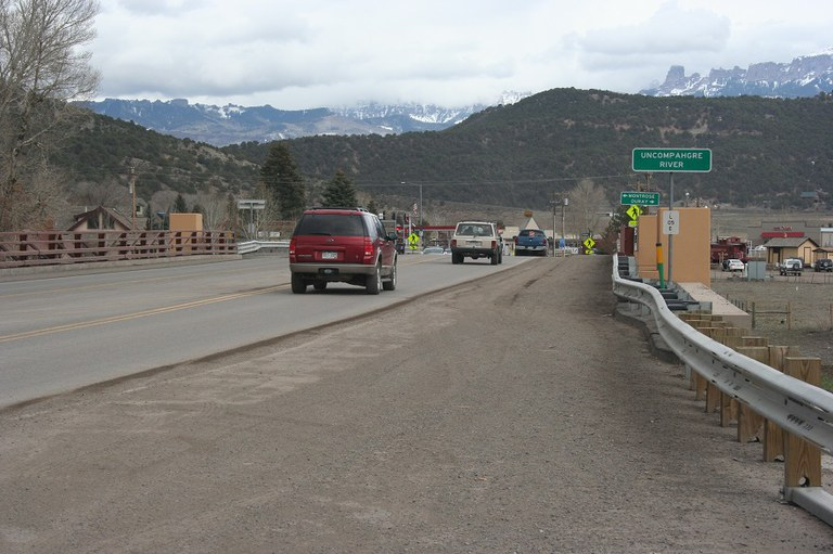 US 550 bridge over Uncompahgre River