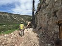 US550 Drilling blast holes