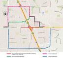 I-25 Arapahoe Map: September 2017