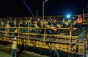 I-25 Bridge Deck Pour Phase 1: August 2016