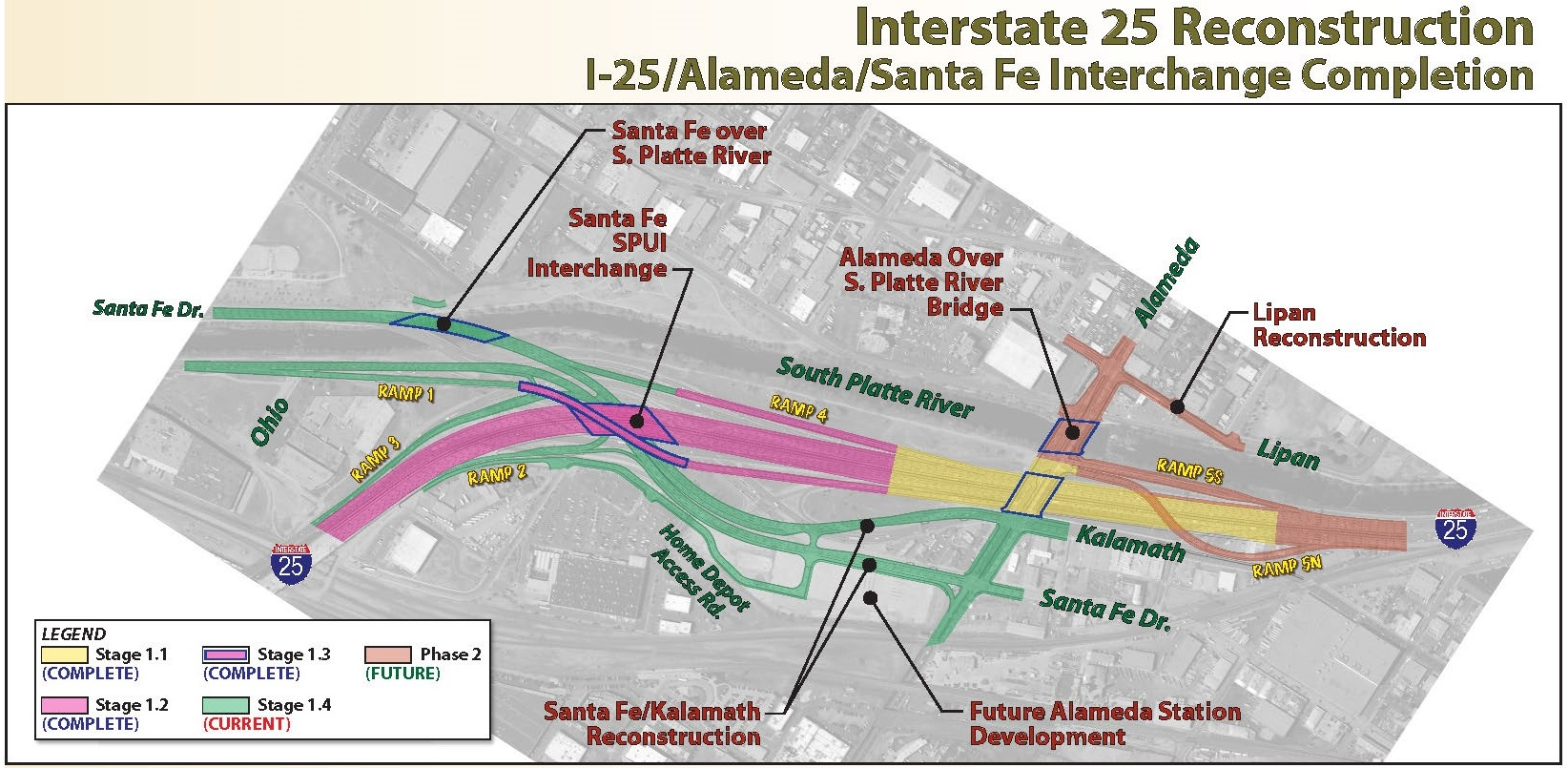 I25 Alameda/SantaFe Completion