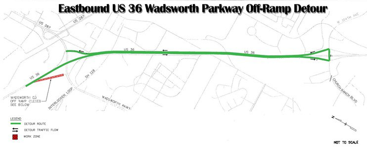 EB Wadsworth Detour June 2013