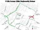 112th & Olde Wadsworth connection detour thumbnail image