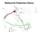 Wadsworth Pedestrian Detour thumbnail image