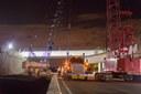 112th Uptown Avenue Bridge Girder Installation 05.10.13