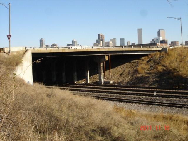 US 6 over Burlington North Santa Fe Railroad east of I-25