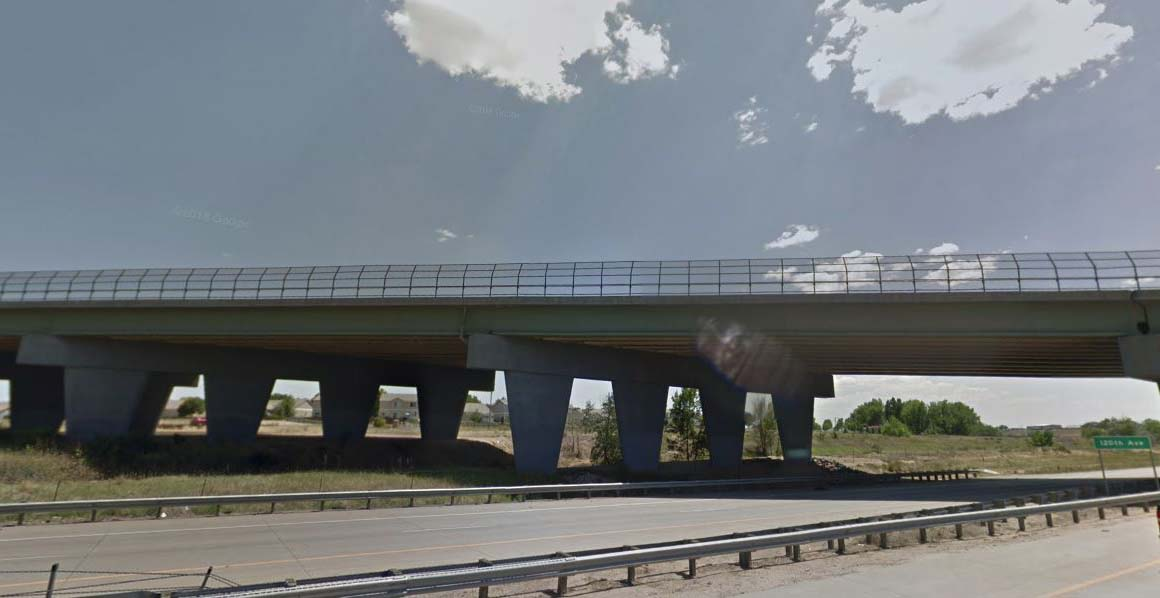 120th Bridge over I-76 view from hwy.JPG detail image