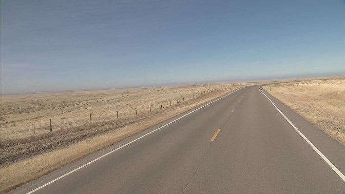 CO 71 between mile points 123 and 125