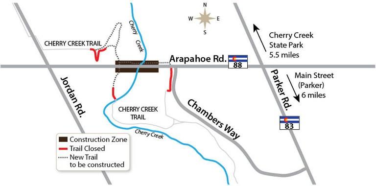 Arapahoe over Cherry Creek