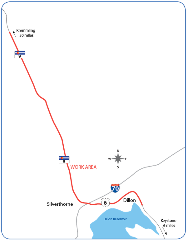 CO 9 and US 6 Project Map.png
