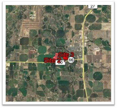 CO 66 Work Zone Location Map