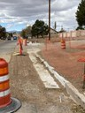 crews are making sidewalk improvements on Walsen at Spruce.jpg