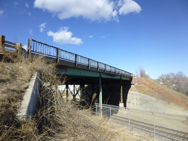 Existing Bridge East Side_Looking North