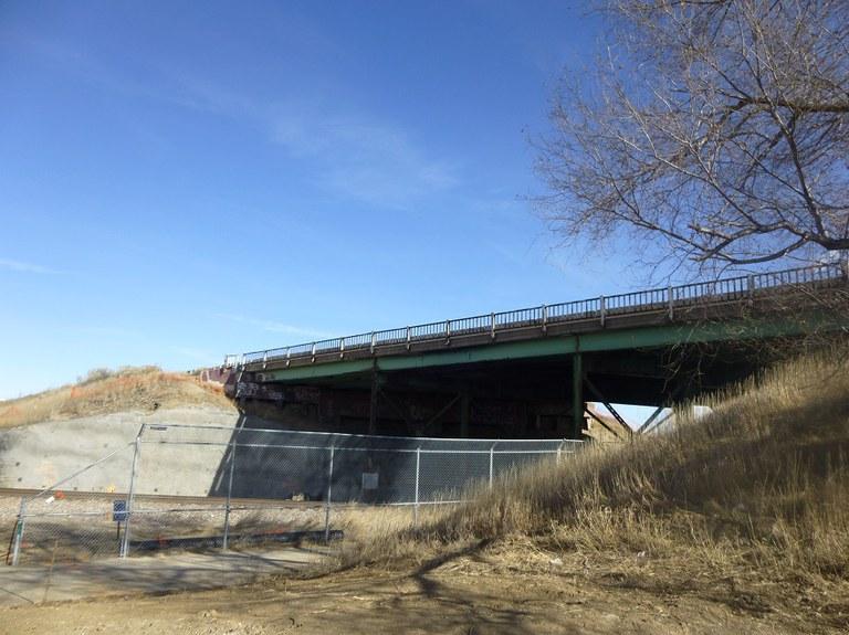 Existing Bridge West Side_Looking North