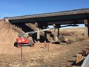 Crews Prepare for Bridge Rail Removal thumbnail image