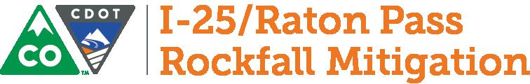 I-25 Raton Pass Rockfall Mitigation