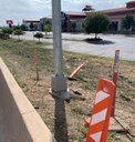 Advance dection base and pole - 58th Ave.jpg