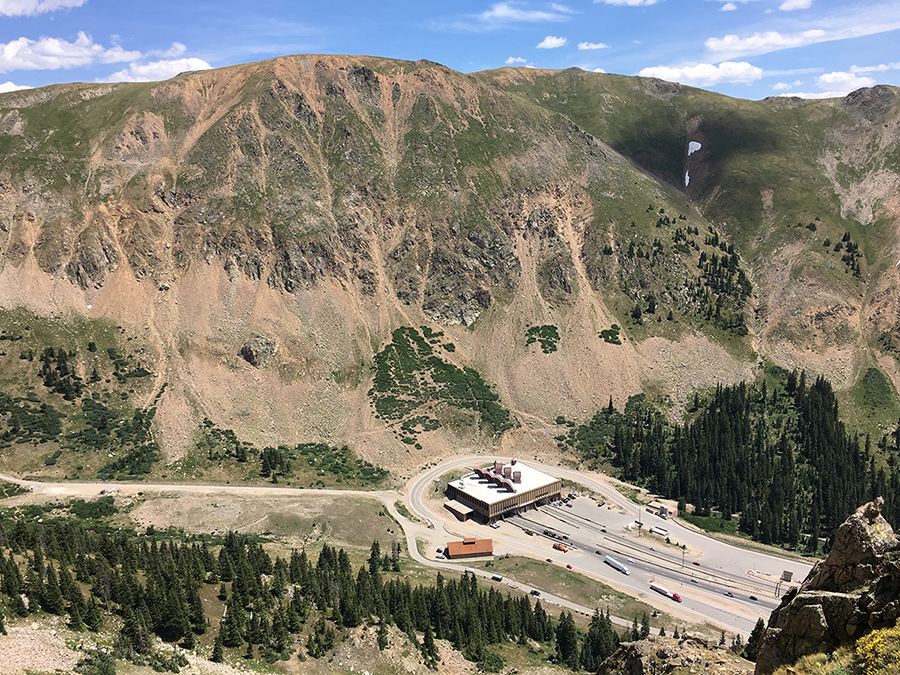 I-70 Loop Road slide path.JPG