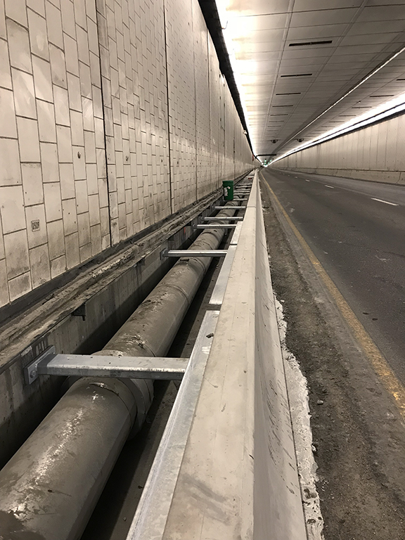 Johnson Tunnel Open Pipe