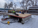 Production of the sound walls for the westbound I-70 Silver Plume on-ramp 1.png