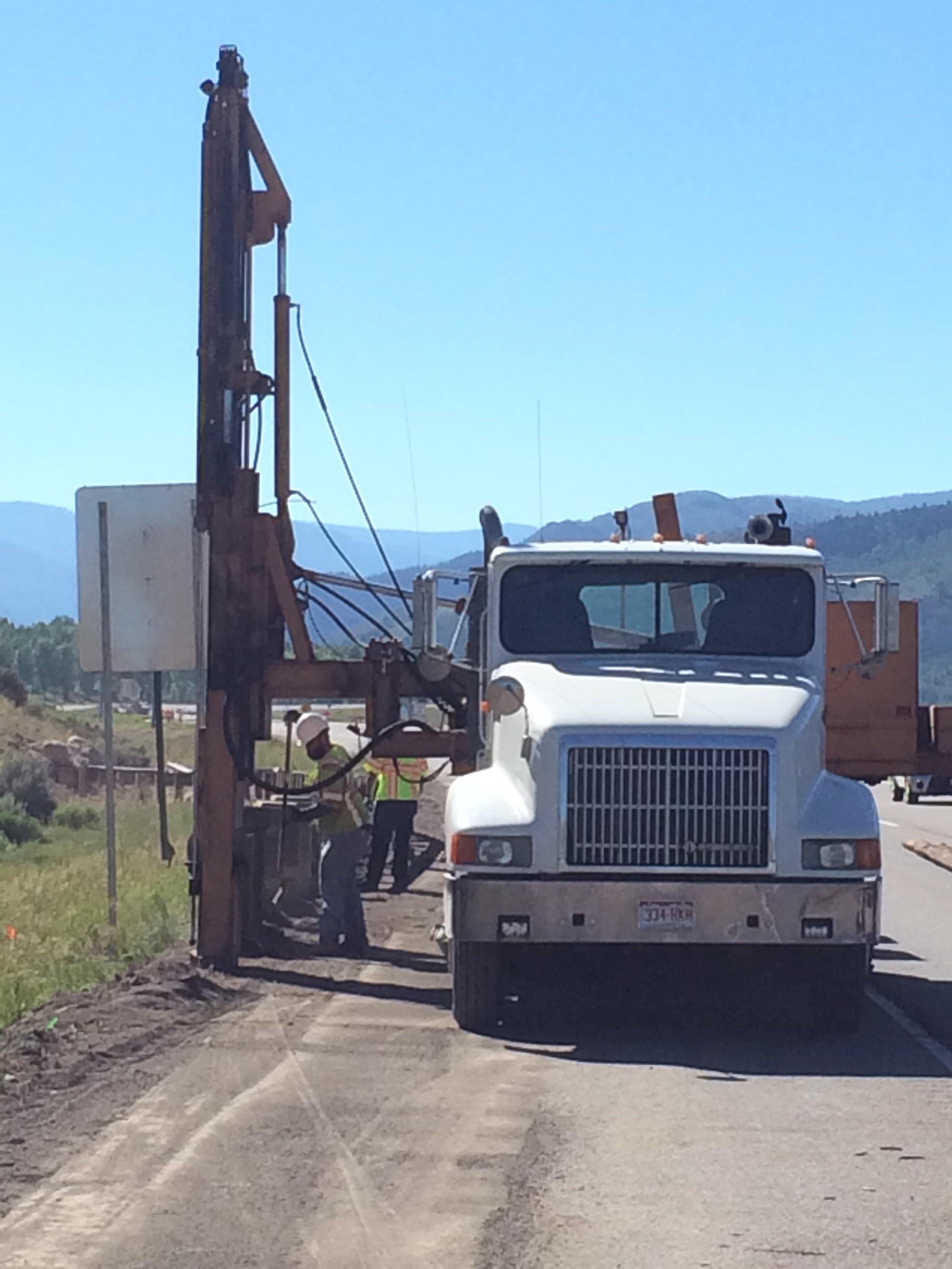 I-70 Wolcott East guardrail installion June 2017.jpg