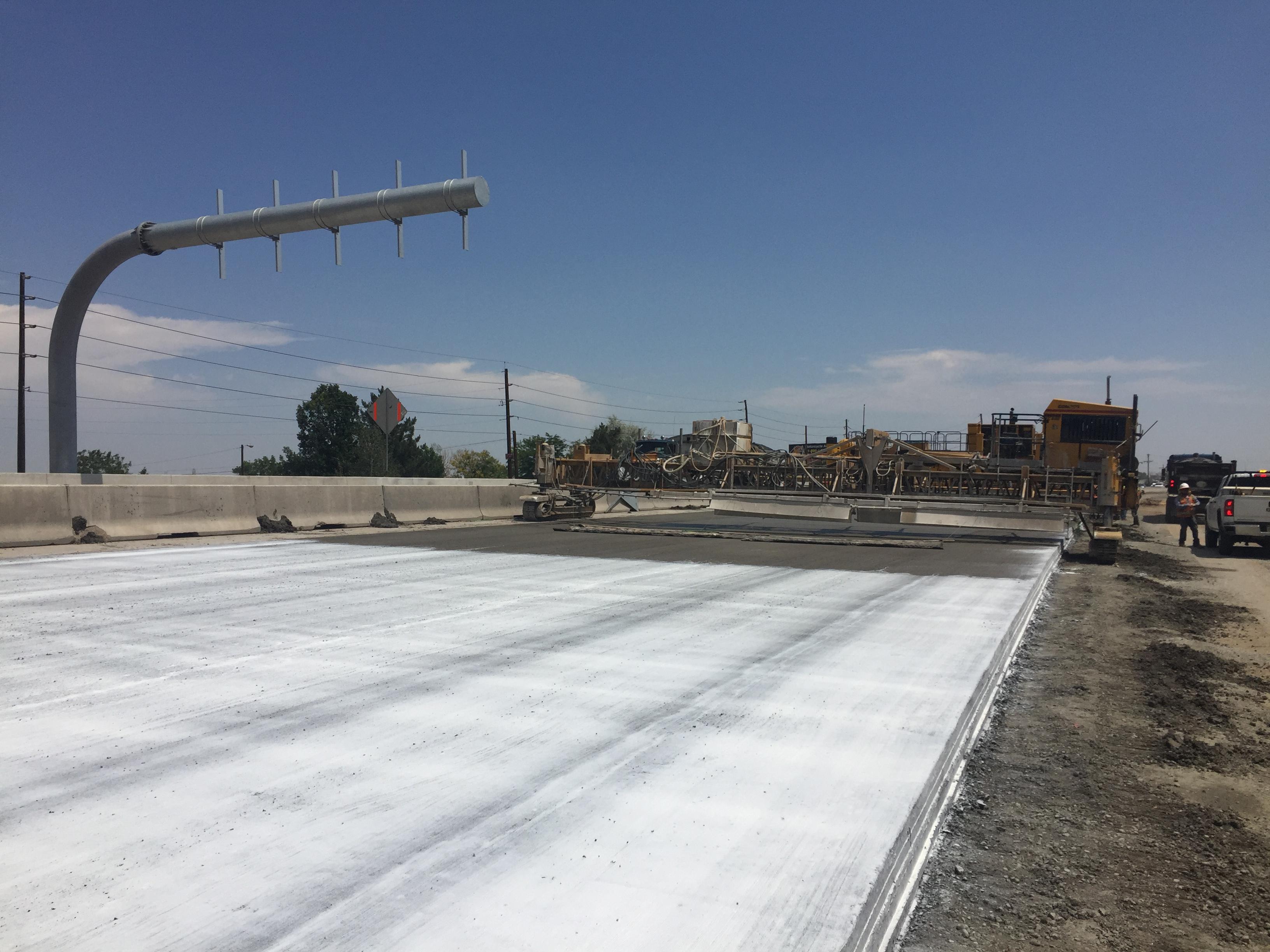 June 2017 - Phase 2 concrete paving
