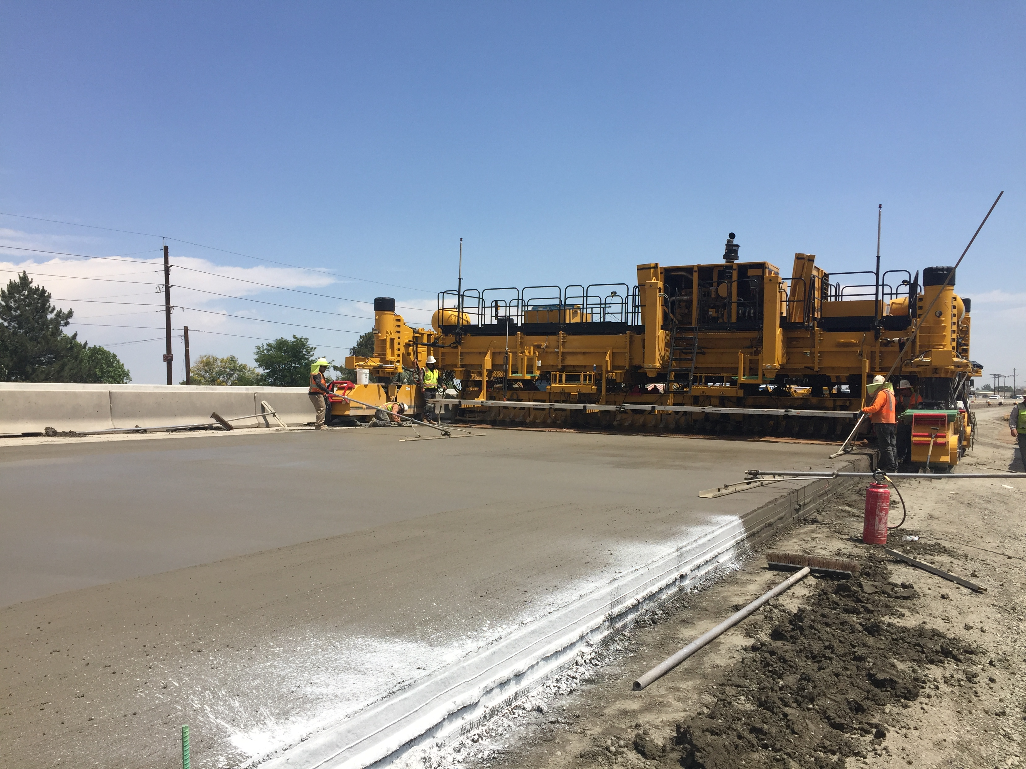 June 2017 - Phase 2 westbound paving