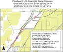 Westbound I-76 Ramp Closures Sept-Oct 2017 thumbnail image