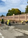 Crews laying concrete for section of auxiliary lane.jpg thumbnail image