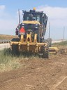 I-25 Cable Tension Wire Work