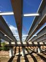 Under the Cimarron Bridge Construction