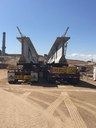 Storing I 25 Bridge Girders