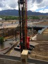 Southbound I-25 work on permanent off-ramp over Fountain Creek