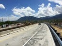 Top of southbound I-25 off-ramp