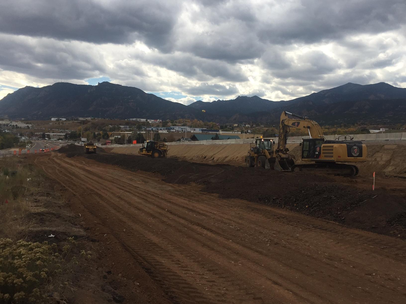 Work on I-25: No. 3 detail image