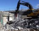 Cimarron bridge demo: No. 1