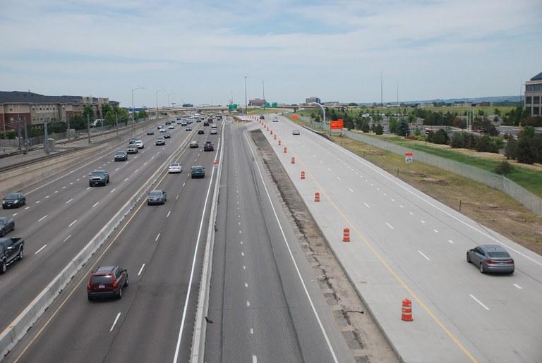 12. I 25 traffic split (June 2015)