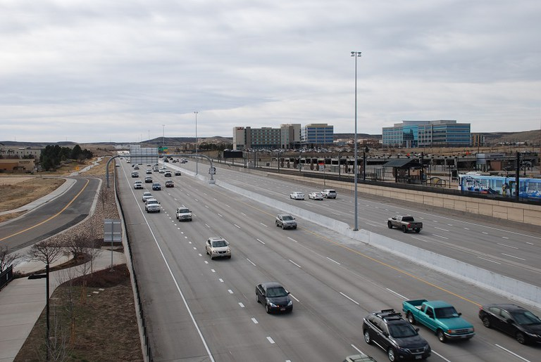 33. I 25 south view (March 2016)