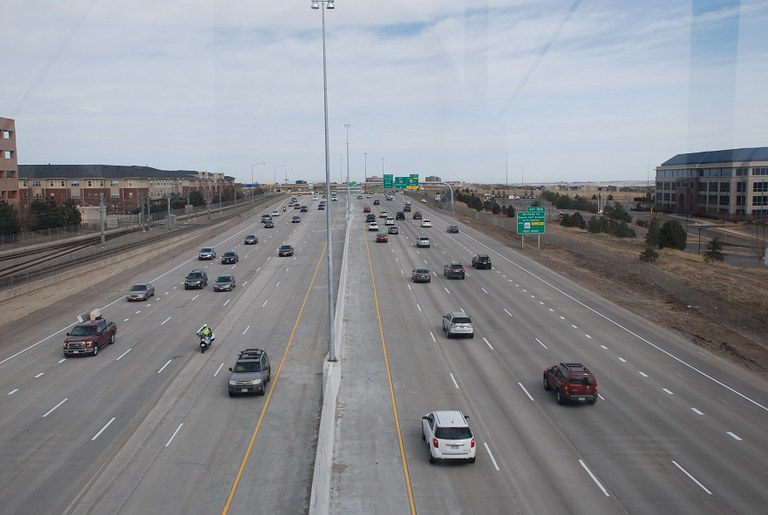 35. I 25 looking north (March 2016)
