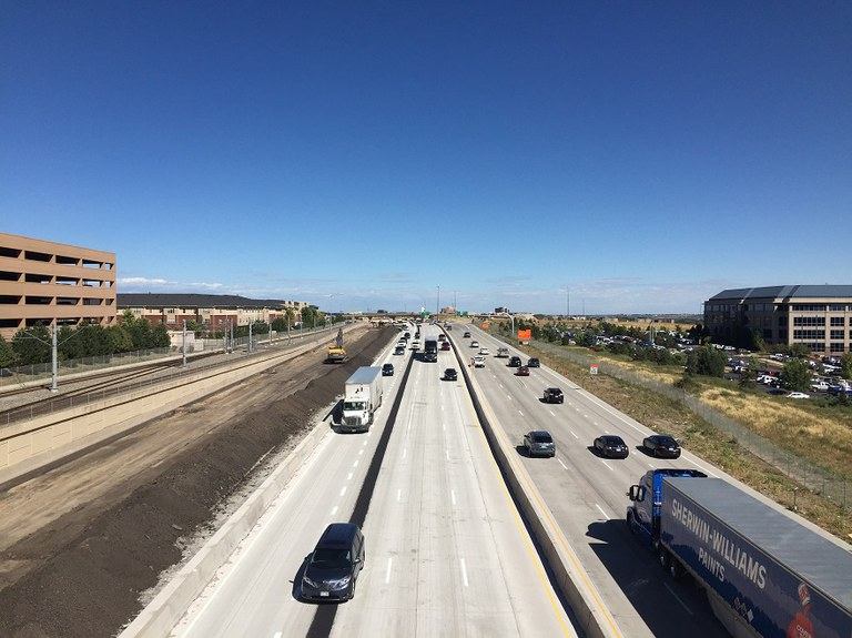 20. I 25 looking north (Sept 2015 Phase 5)