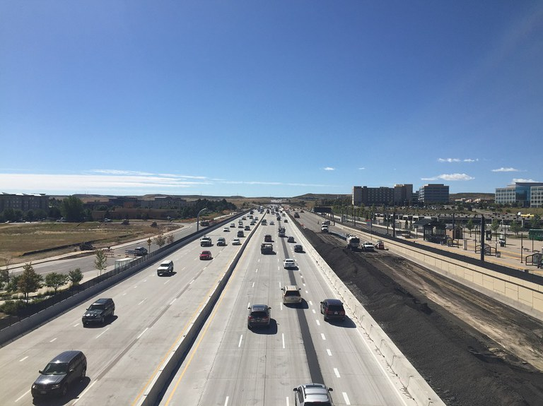 18. I 25 looking south (Sept 2015 Phase 5)