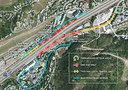 Vail Underpass Map: July 2016
