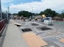 Bridge deck repair on Mesa Avenue