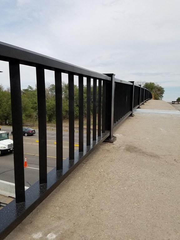 Mesa Bridge Handrail Rehabilitation Aug. 25 2016