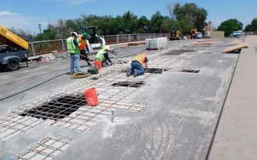 More bridge deck repair on Mesa Avenue