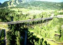 Existing Maroon Creek Bridge design and conditions. thumbnail image