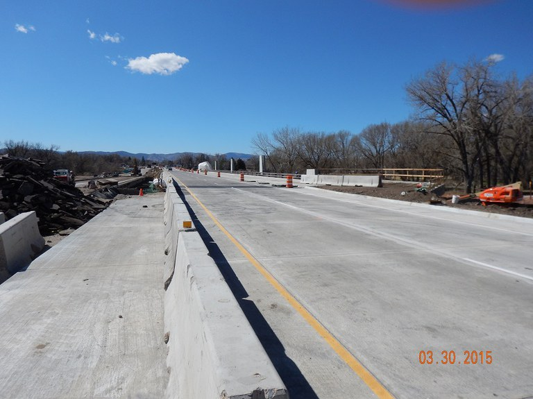 SH14 Mar2015 North side open to traffic
