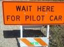SH 392 Pilot Car Sign