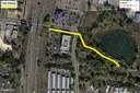 Trail Detour Map